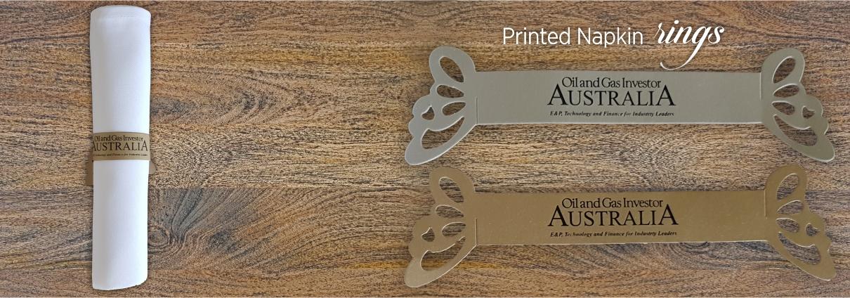 Custom paper service napkins australia